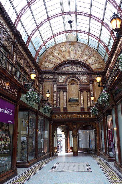 Central Arcade In Newcastle Newcastle Upon Tyne Newcastle Castles Interior