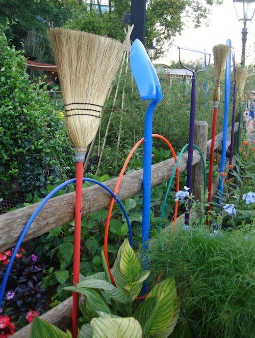 20 Inspiring And Creative Gardening Ideas Garden Tools Backyard