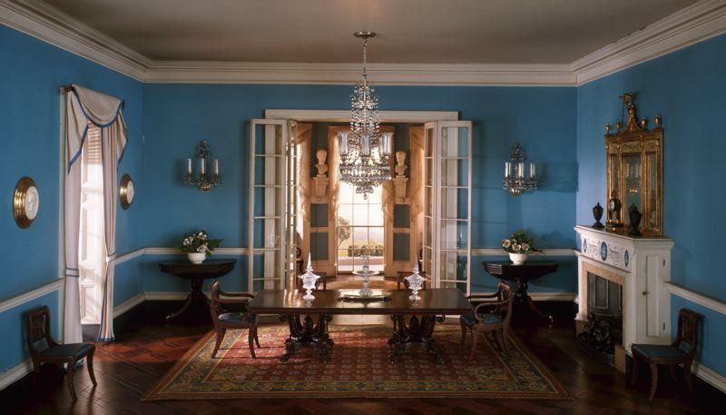 Rooms: A26: Virginia Dining Room, C. 1800