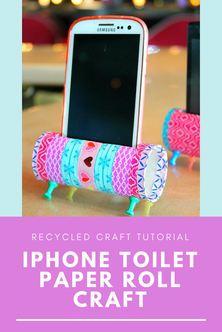 Iphone Toilet Paper Roll Craft Recycled Paper Crafts Paper Roll Crafts Toilet Paper Roll