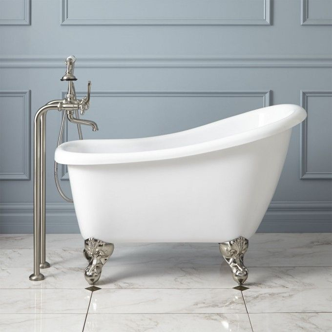 44 Carter Mini Acrylic Clawfoot Tub You Will Be Mine Oh Yes
