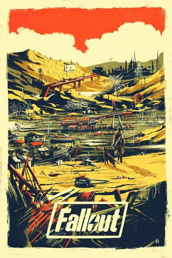 Fallout Poster | ILLUSTRATION | Fallout posters, Fallout art