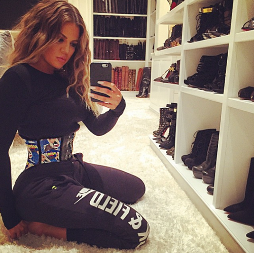 84e387e17a Kylie Jenner Hops on the Waist-Training Bandwagon Just Like Her ...