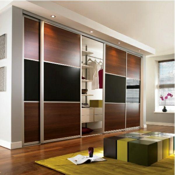 La porte de dressing coulissante garantit un style moderne pour - porte d armoire coulissante