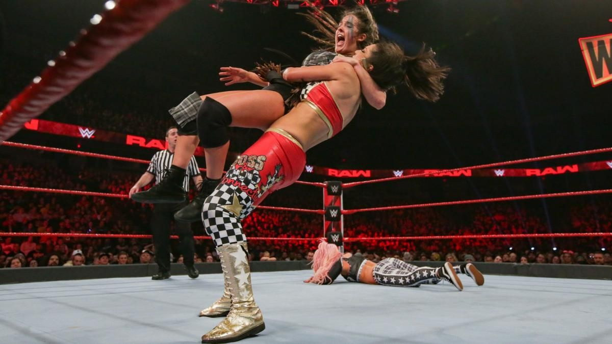 Photos Trio Of Team Red Tandems Battle With Major Elimination Chamber Match Ramifications Raw Women S Champion Wwe Womens Wwe