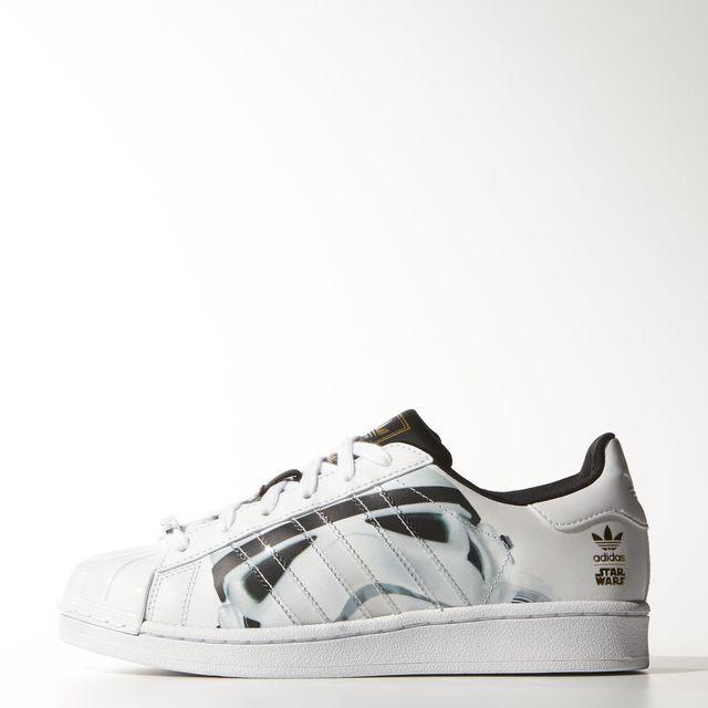 adidas Superstar Star Wars Stormtrooper Shoes - White | adidas US