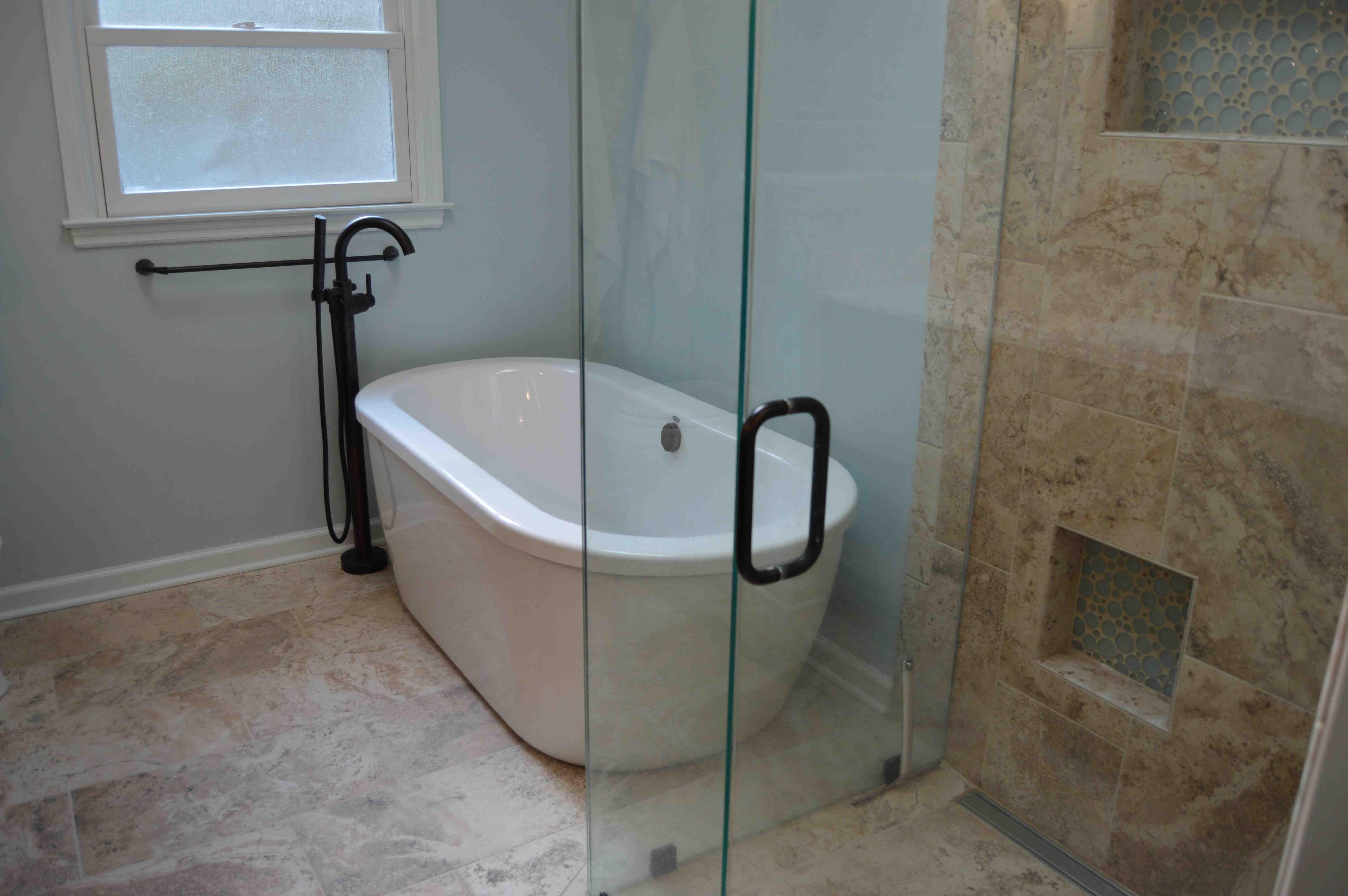 PraterBathroomTubDesignRemodelHatchettVirginia Beach - Hatchett bathroom remodel