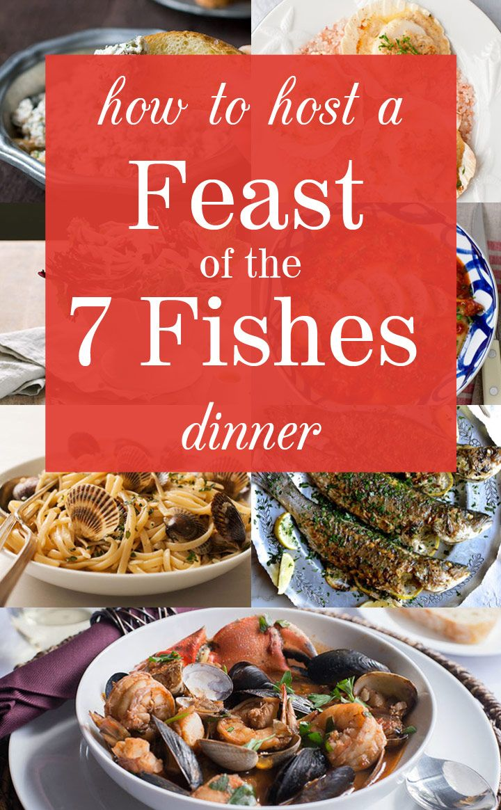 How to host a feast of the seven fishes dinner fish for Christmas eve fish dinner