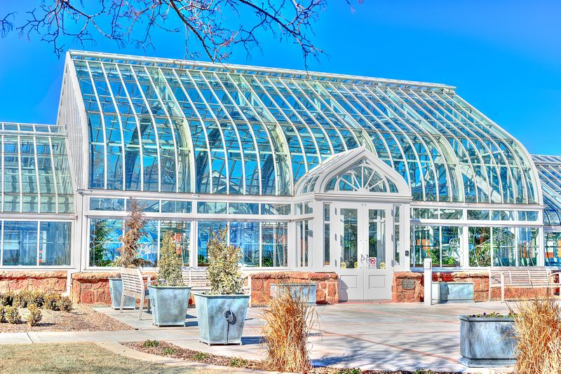Ed Lycan Conservatory in oklahoma city. Picture was taking