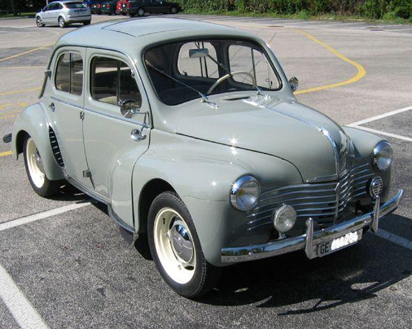 Ma Renault 4cv De 1952 Carros Legais Garagem Dos Sonhos Carros