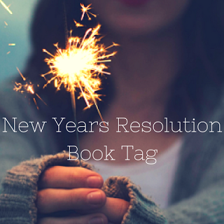April Books: New Years Resolution Book Tag