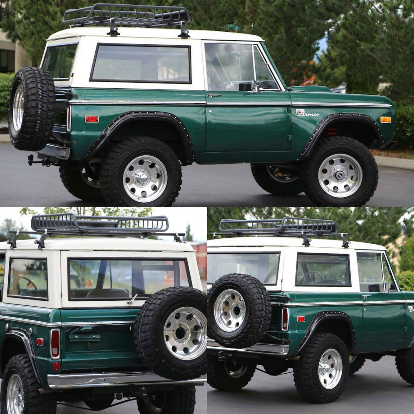 1975 for bronco price 32,900 Power Front Disc Brakes