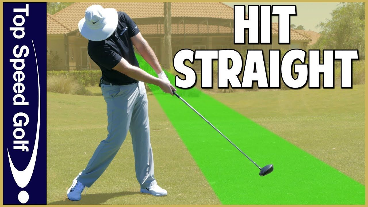 How to hit a driver straight every time youtube golf