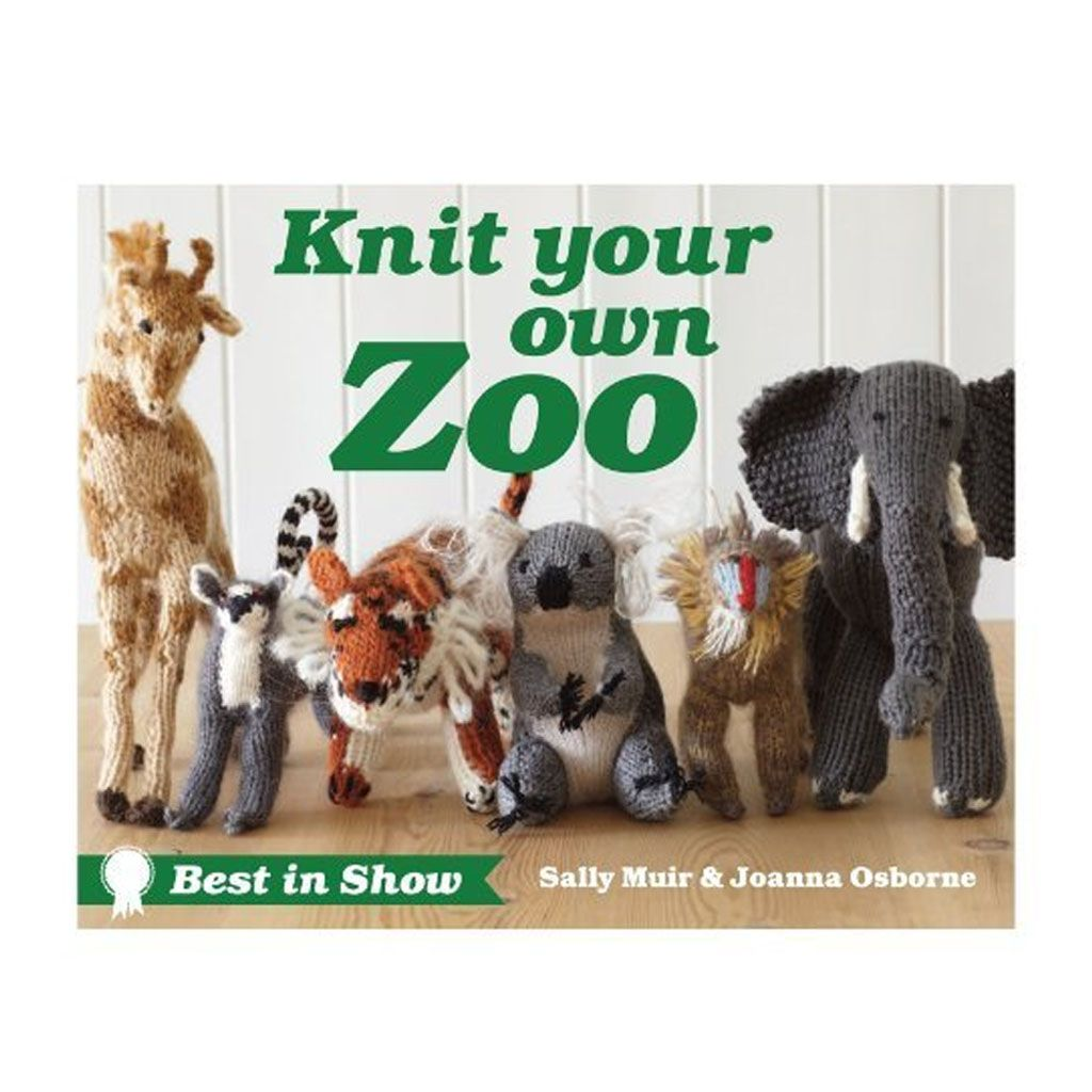 Knit Your Own Zoo | Animal knitting patterns, Knitting ...