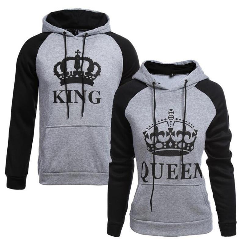 d10bea6392 King Queen Hoodie King Queen Hoodie Hooded Sweatshirts, Hoodies, Printed  Sweatshirts, Fashion Brand