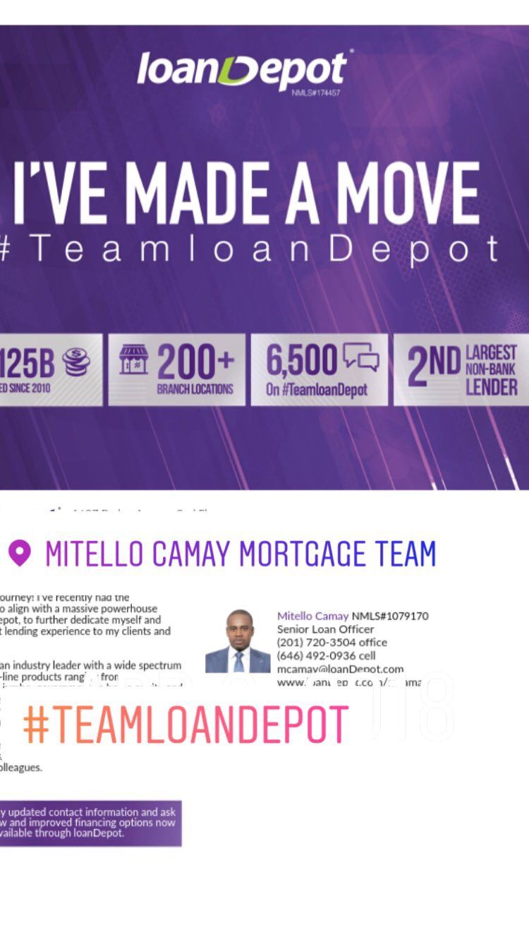 Pin By Mitello Camay Mortgage Team On I Made A Move Loan Officer