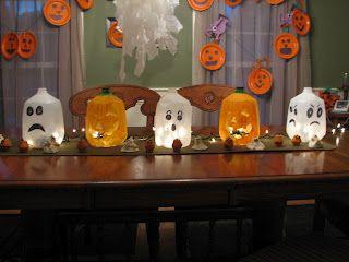 Halloween Table Center Piece