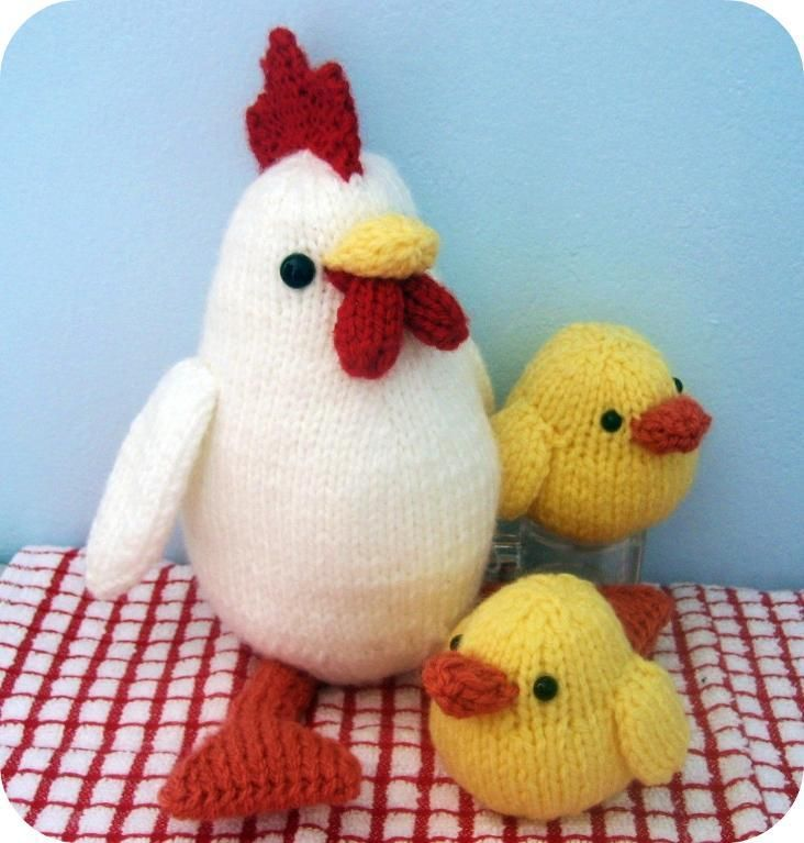 Hen and Chicks Knit Pattern | Knit patterns, Hens and Patterns