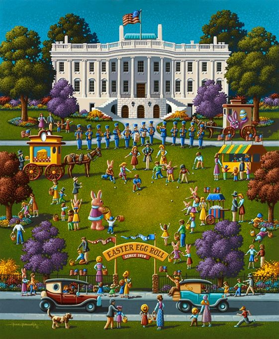 Easter Egg Roll by Eric Dowdle - Washington, D.C., United States of America