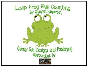 Sprung Frosch überspringen zählen