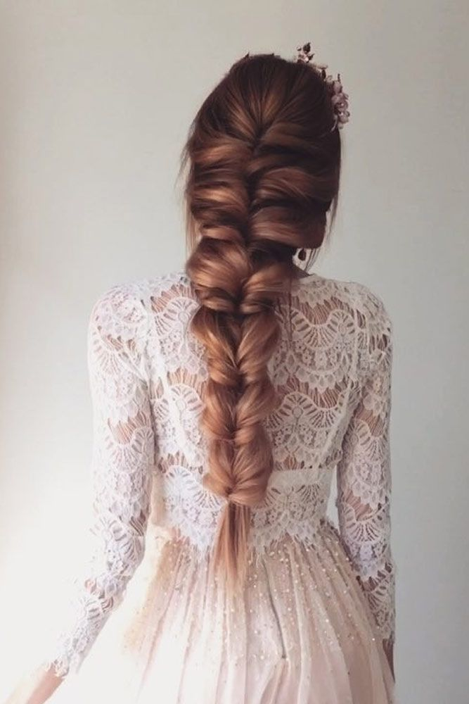 Trendy Prom-Frisuren für langes Haar können den Geschmack jeder #promhairstyles
