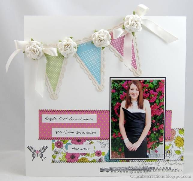 Angies 8th Grade Graduation by Westies - Cards and Paper Crafts at Splitcoaststampers