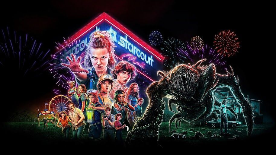 Stranger Things Season 3 Characters Poster 4k 1 Wallpaper For Desktop Lap In 2020 Stranger Things Artwork Stranger Things Wallpaper Stranger Things Season 3