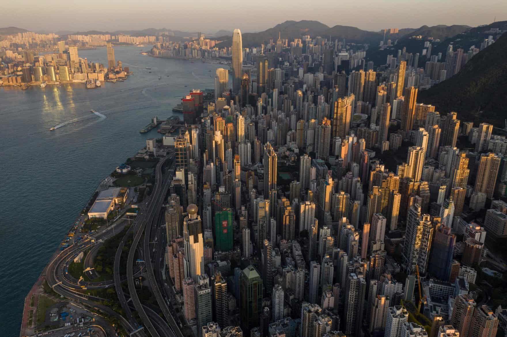 Hong Kong From The Skies In Pictures Aerial View Hong Kong Travel Hong Kong Beaches