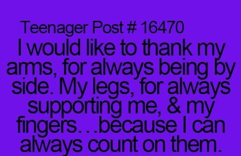 speech about being a teenager