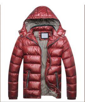 Hooded Fashion Winter Men's Down Jacket