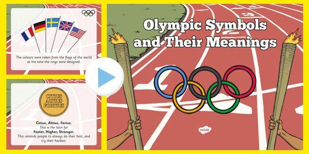 Pin By Tracy Onaindia On Education Pinterest Olympics And Symbols