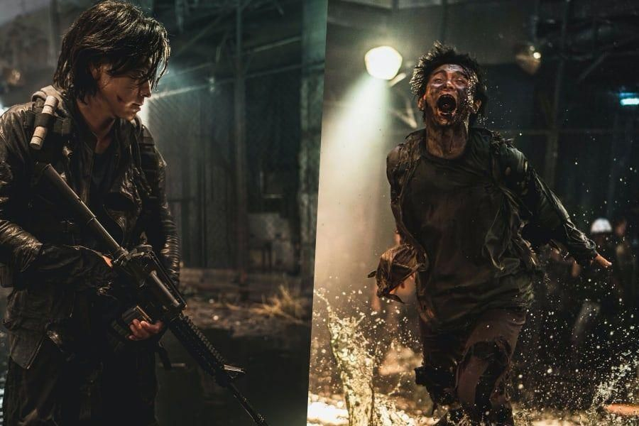 "Kang Dong Won Prepares For An Epic Battle Against Zombies In ""Train To Busan"" Sequel ""Peninsula"""