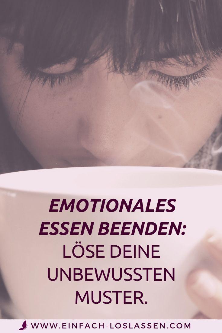 Wenn du emotionales Essen stoppen willst, musst du deine unbewussten Muster lösen.