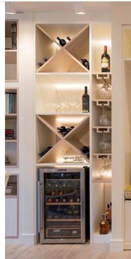 Built Ins For Wine Fridge Inspo Wine Fridge Built Ins Wine Cellar
