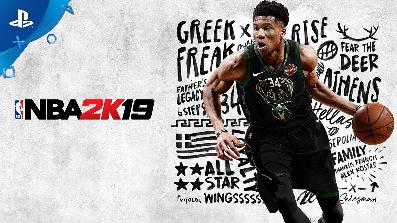 Nba 2k19 A Boy With A Name Feat Giannis Antetokounmpo Ps4 Gaming Ps4 Nba Nba Wallpapers Free Basketball