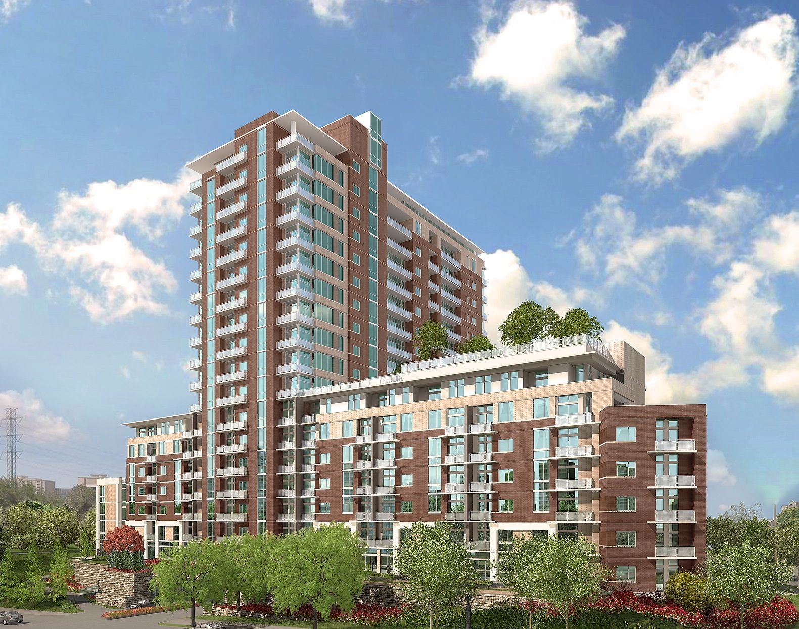 Cedar Springs Apartment Tower Dalas Texas Status Under