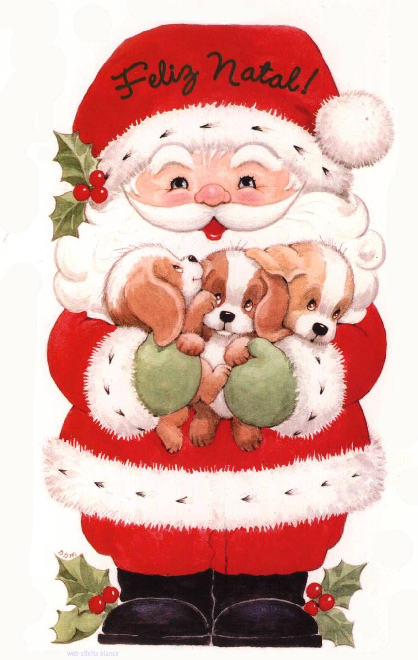 Christmas Santa Papa Noel Feliz Natal Desenho De Natal