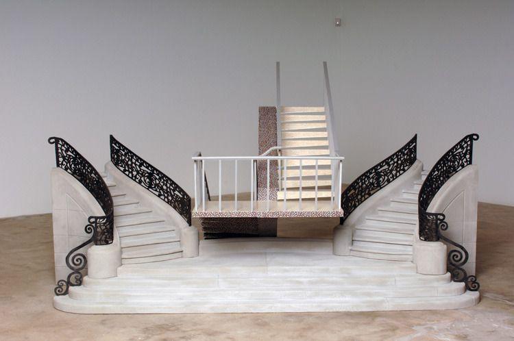 "contemporary-art-blog:  "" Daniel Arsham, ""Miami does Paris"" 2006, 2007  """
