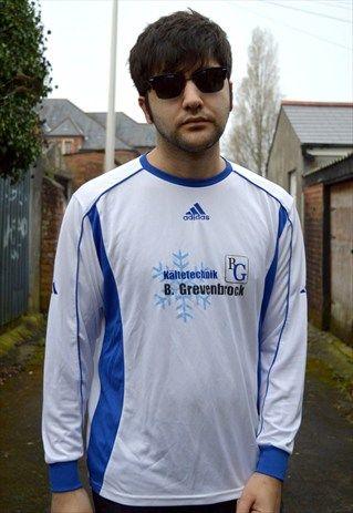 Adidas Vintage Sports Shirt Football