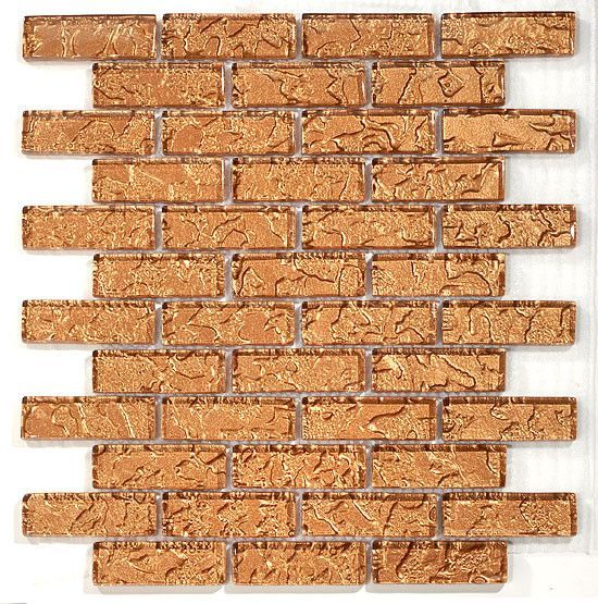 Gt Brick Mosaic Temptation Series May Qualify For Free Shipping Copper Glass Brick Tiles