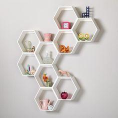 Ikea Hexagon Shelves Google Search Honeycomb Shelves Shelves