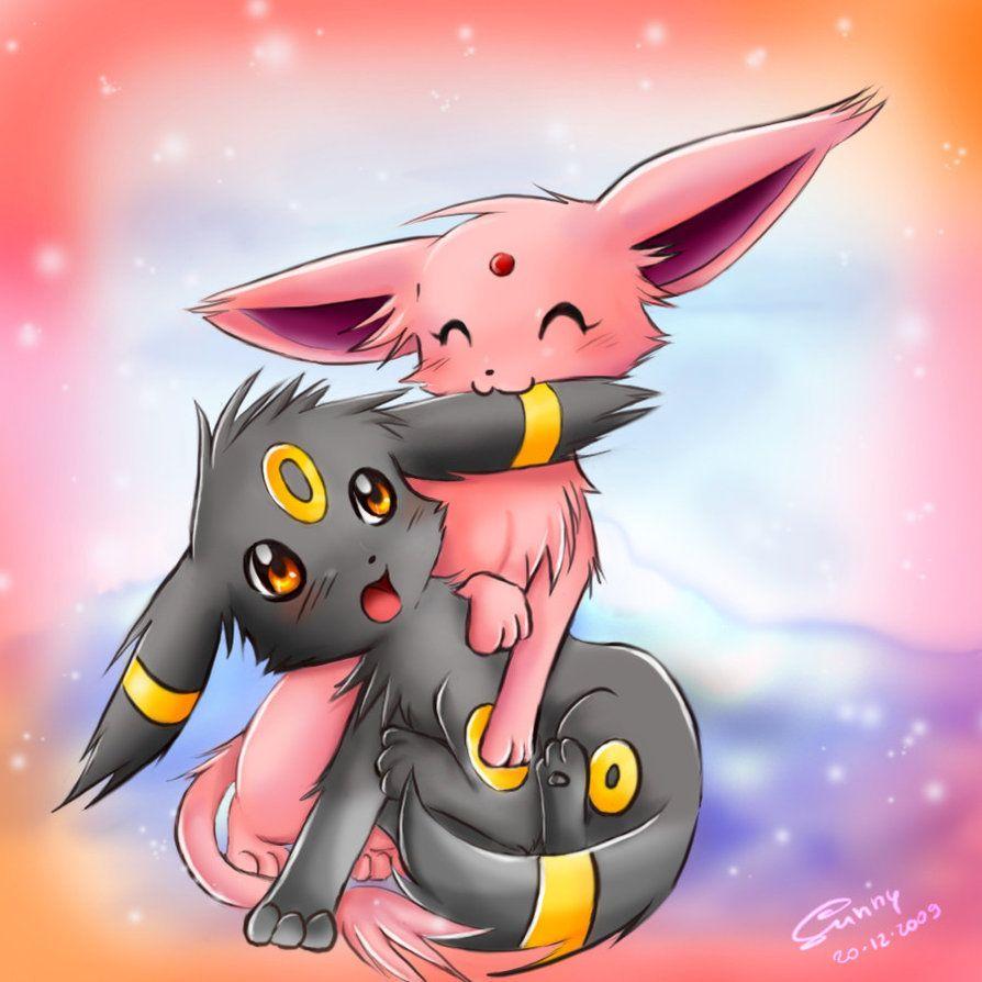 """Espeon Kittydog """"Lovely X BonBon"""" Loves Sprite - Google+"""