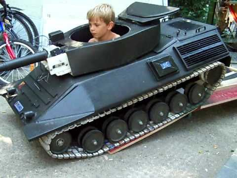 Alex Needs This Kids Diy Tank Pedal Cars Power Wheels