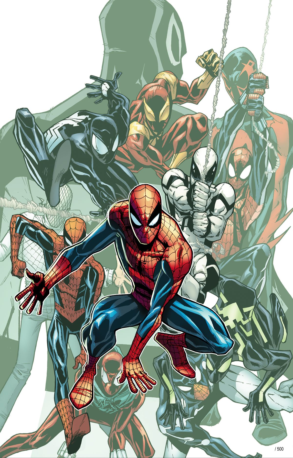The Amazing Spider-Man #692. Limited Edition art available for purchase at artinsights.com