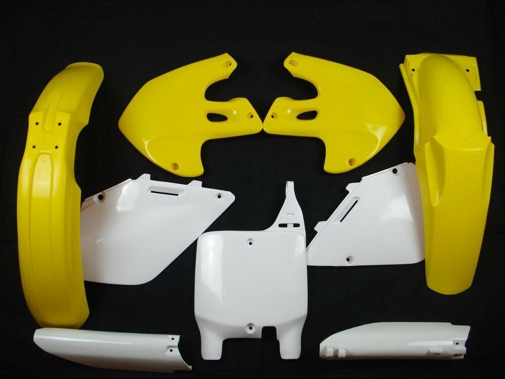 Kotflügel vorne universal Supermoto gelb gelocht für 17 Zoll CEMOTO