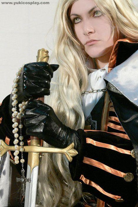 Cosplay: Alucard - Castlevania   via Tumblr   Cosplay, Games
