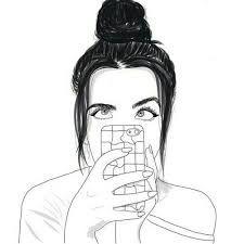 Snap Resultado De Imagem Para Dibujos Faciles De Chicas Tumblr