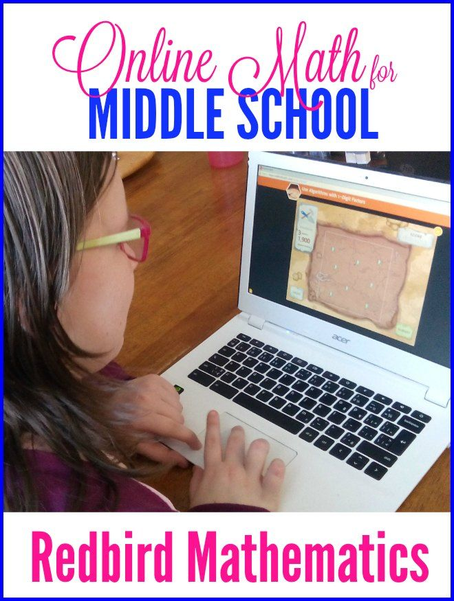 Online Math for Middle School: A Look at Redbird Mathematics | Math ...
