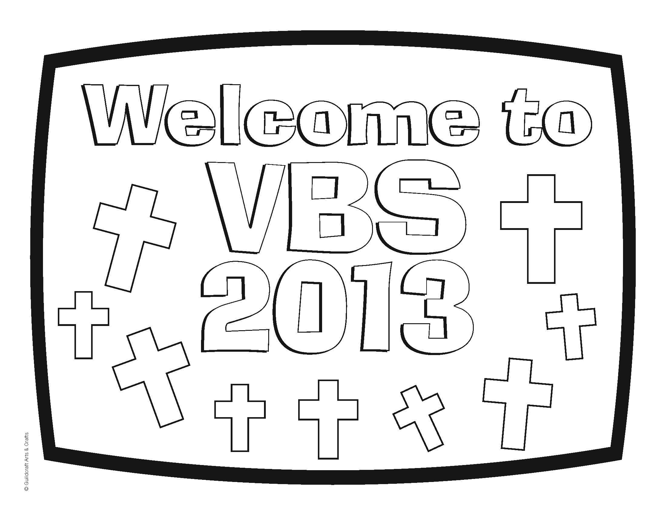 Guildcraft VBS 2013 rtc free VBS coloring sheets (or pre