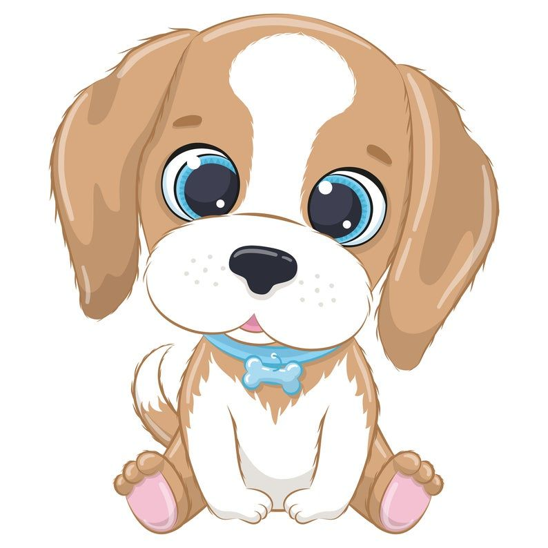Cute Dog Clipart Eps Png Jpeg Pets Clipart Cute Animal Clipart Doggy Clipart Cute Animal Clipart Cute Baby Dogs Baby Animal Drawings